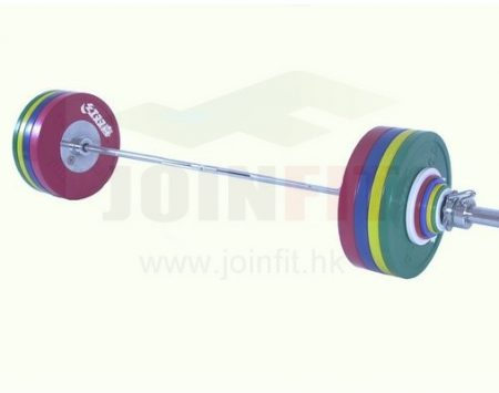 DHS IWF Certified Competition Barbell - 185kg for female athletes