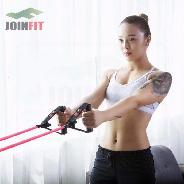 Joinfit resistance tube fitness equipment JR032 4