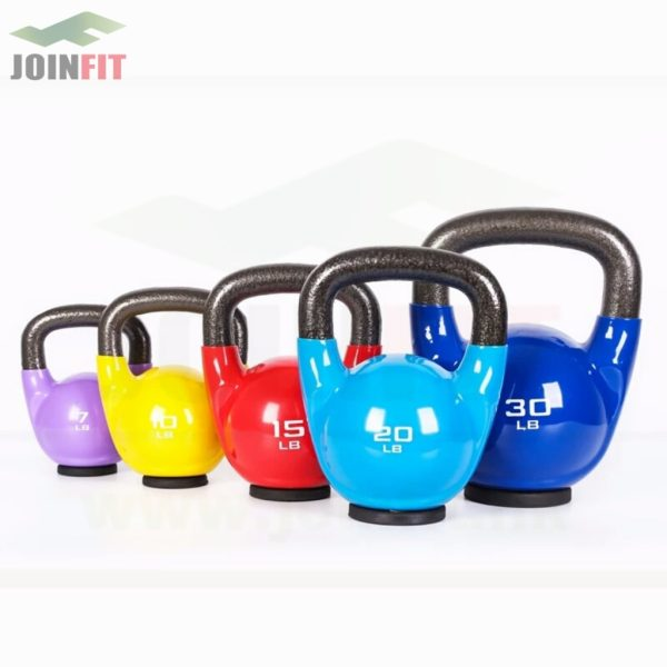 products joinfit kettlebells rubber base JS054 1