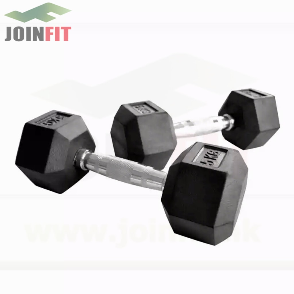 Dumbbells - Gym Grade Hex Head - Joinfit - Free Delivery in Hong Kong